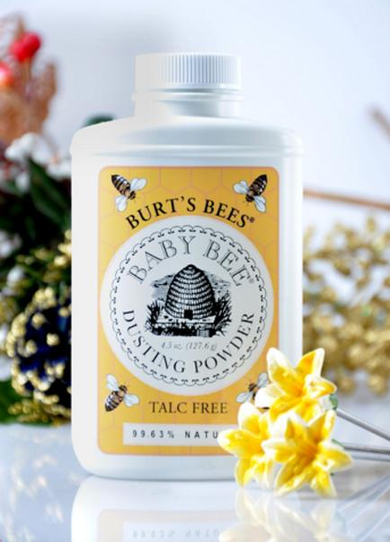 #1 Best seller! $13.82 Burt's Bees Baby Bee Dusting Powder Talc Free, 4.5-Ounce, Pack of 3
