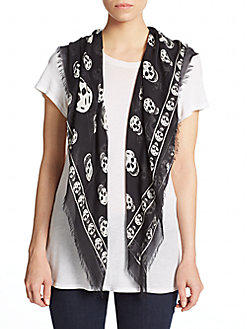 Up to 80% Off Alexander McQueen Scarf, Clothing and More @ Saks Off 5th