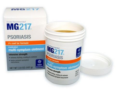 $7.88 MG217 Psoriasis Medicated Conditioning Coal Tar Formula Multi-Symptom Ointment, 3.8 Ounce