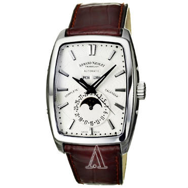 $1295 Armand Nicolet Men's TM7 Complete Calendar Watch