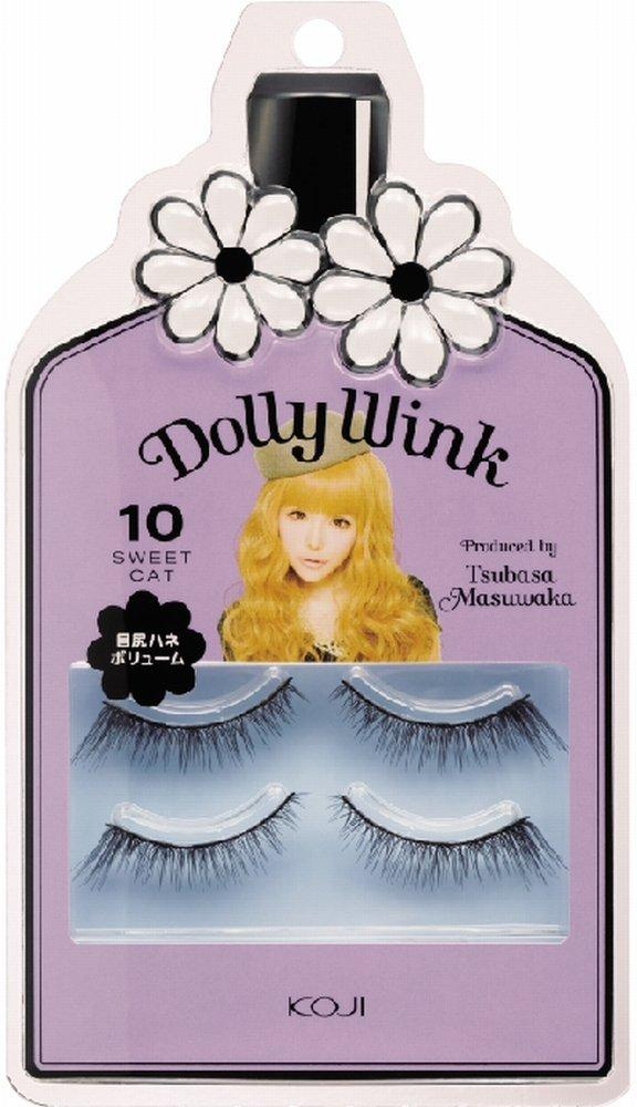 $11.99 Dolly Wink Koji False Eyelashes #10 Sweet Cat
