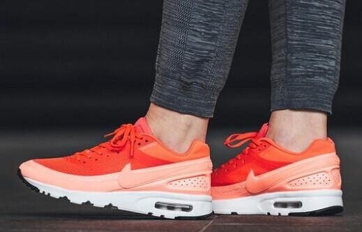 NIKE Air Max BW Ultra mesh and leather sneakers @ Net-A-Porter