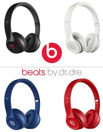 Beats by Dr. Dre Solo 2 On-Ear Headphones - various colors