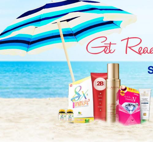 Up to 82% Off Get Ready For Summer Sale @ Sasa.com