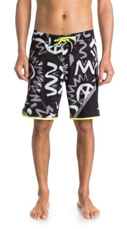 "$13Quiksilver AG47 New Wave High 20"" Boardshorts"