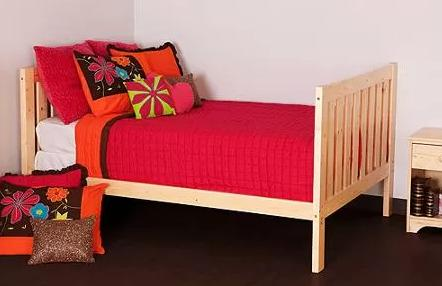 Canwood Alpine II Full Bed, Natural