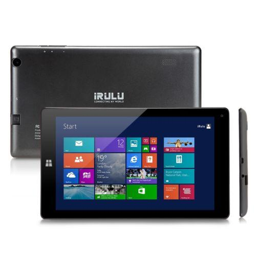 "$79.99 iRULU Win 10 New 8.9"" Tablet PC Quad Core 16GB Notebook Dual Cams Tablet"