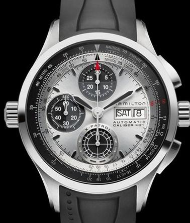 $699.00 Hamilton Men's Khaki Aviation X-Patrol Auto Chrono Watch H76566351 (Dealmoon Exclusive)