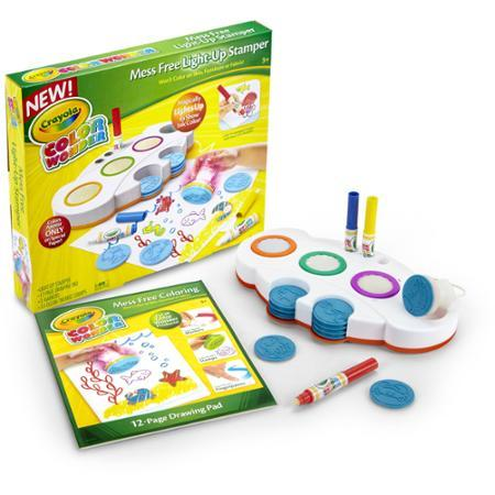 $12.88 Crayola Magical Mess Free Light-Up Stamper
