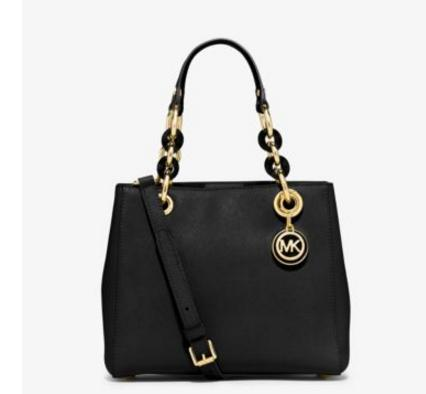 MICHAEL MICHAEL KORS  Cynthia Small Leather Satchel @ Michael Kors