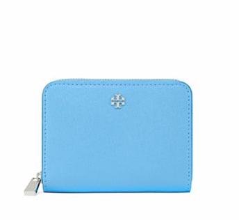 ROBINSON ZIP COIN CASE @ Tory Burch