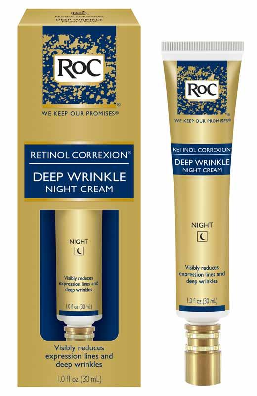 RoC Retinol Correxion Deep Wrinkle Night Cream, 1 Ounce