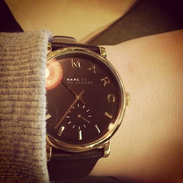 Marc by Marc Jacobs Baker Leather Ladies Watch MBM1269