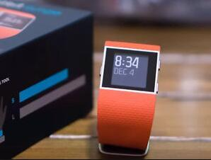 Fitbit Surge Fitness GPS Superwatch - TANGERINE