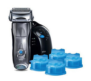 $139.99 Braun Series 7 790cc-4 Electric Foil Shaver and Clean and Renew Cartridge Refills