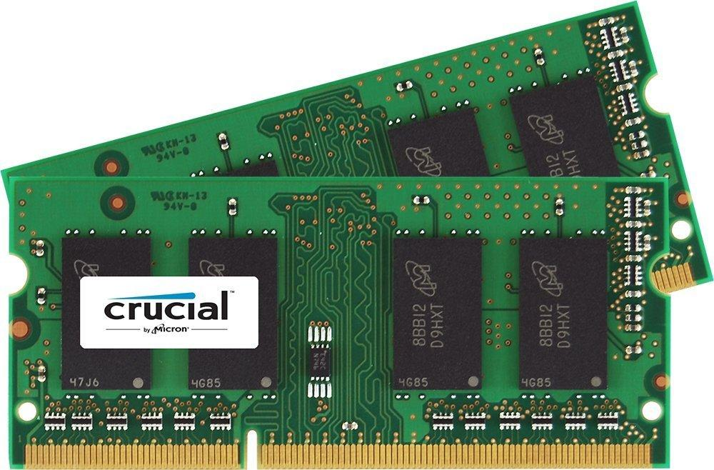 59.99 Crucial 16GB Kit (8GBx2) DDR3L 1600 SO-DIMM for Mac