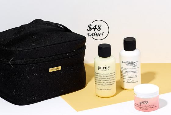 Free Travel Set With Any $50 Order @ philosophy