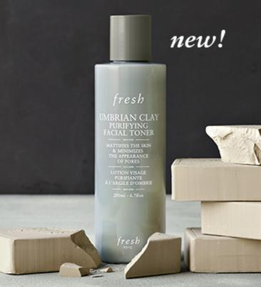 Free Fresh Umbrian Clay Purifying Facial Toner with $25 Beauty Purchase or more @ Sephora.com