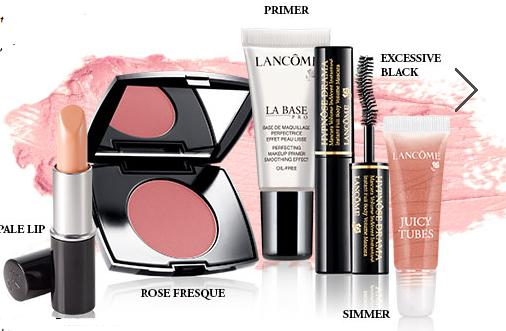 Free 5 Travel-size Products + Free Shipping with Oders over $49 @ Lancome