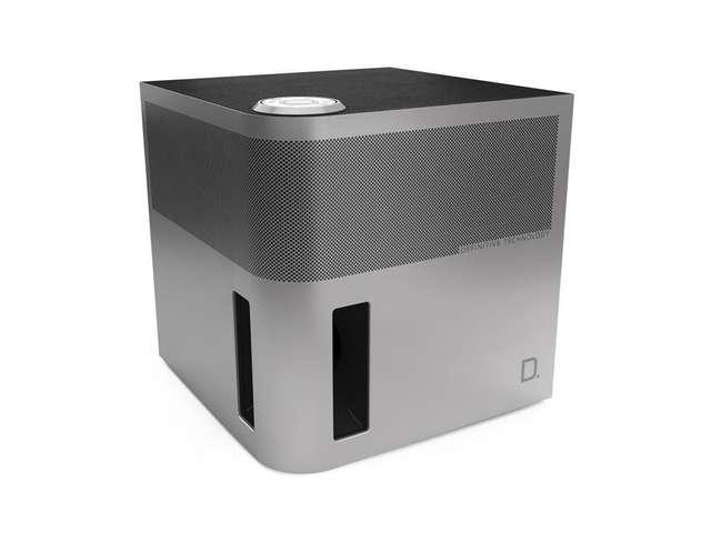 Definitive Technology Cube 3.1 Channel Bluetooth Speaker with Tri-Polar Array, AC or Portable