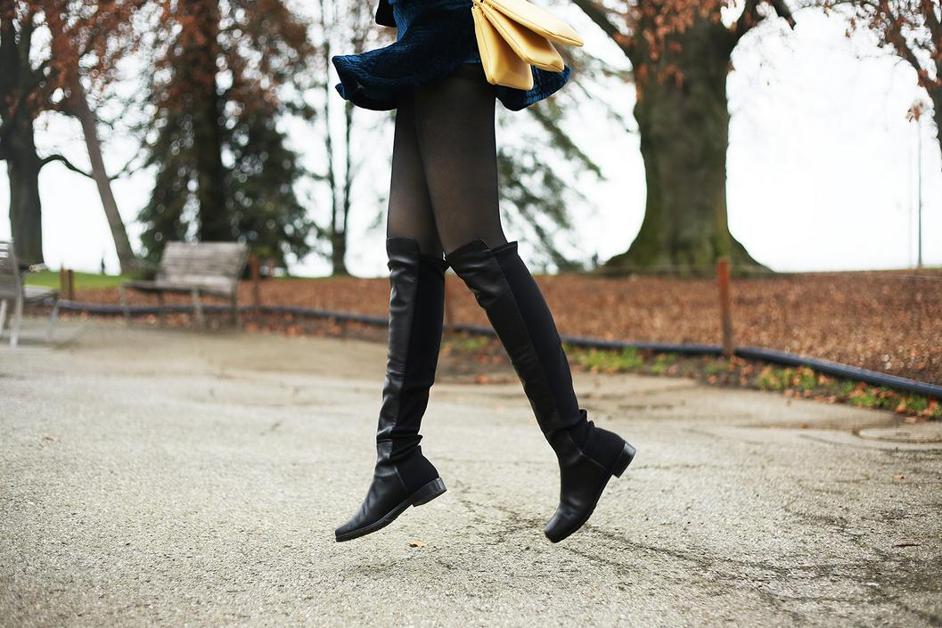 $25 Reward Card for Every $100 You Spend on Stuart Weitzman Over The Knee Boots Sale @ Bloomingdales