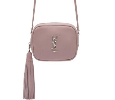 Saint Laurent  Pink Monogram Toy Blogger Bag  @ SSENSE