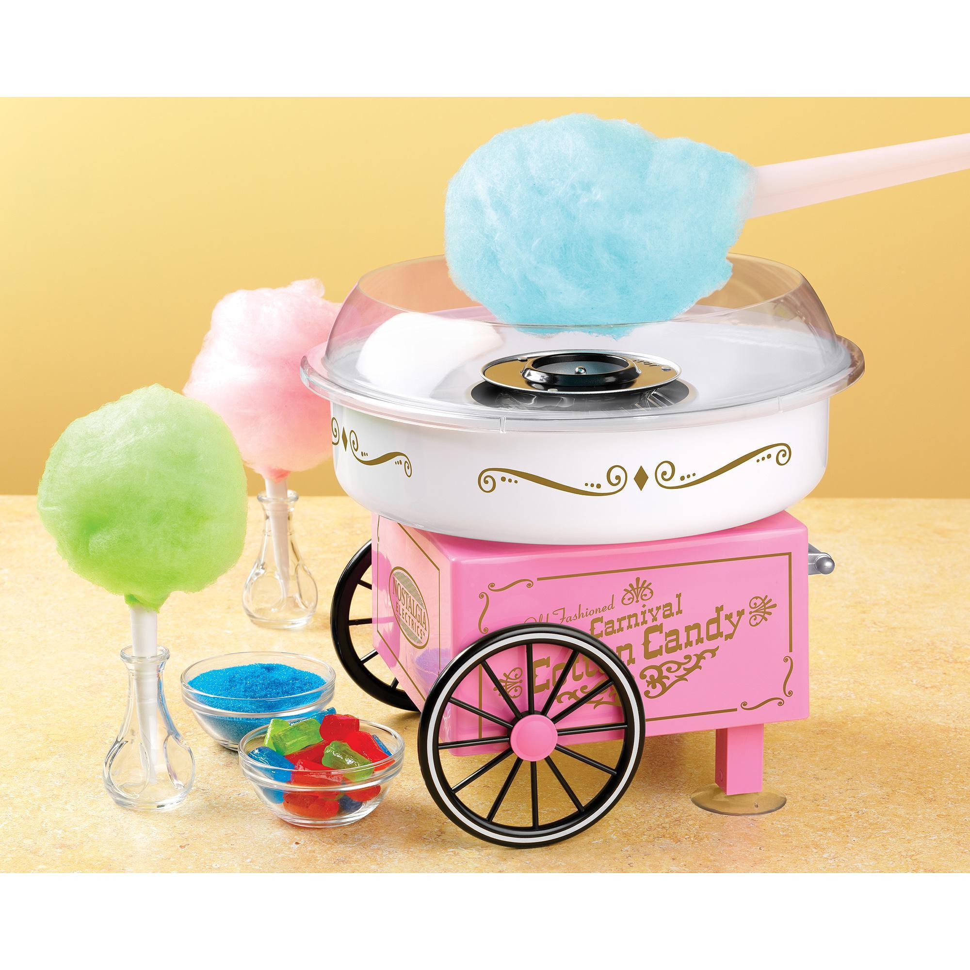 Nostalgia Vintage Collection Hard & Sugar-Free Candy Cotton Candy Maker