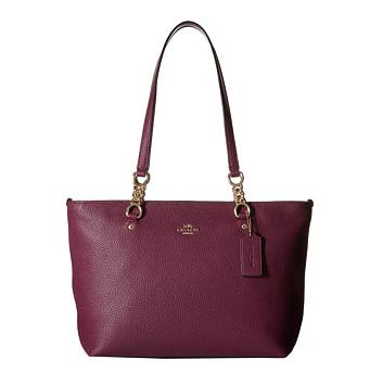 COACH Pebbled Small Sophia Tote