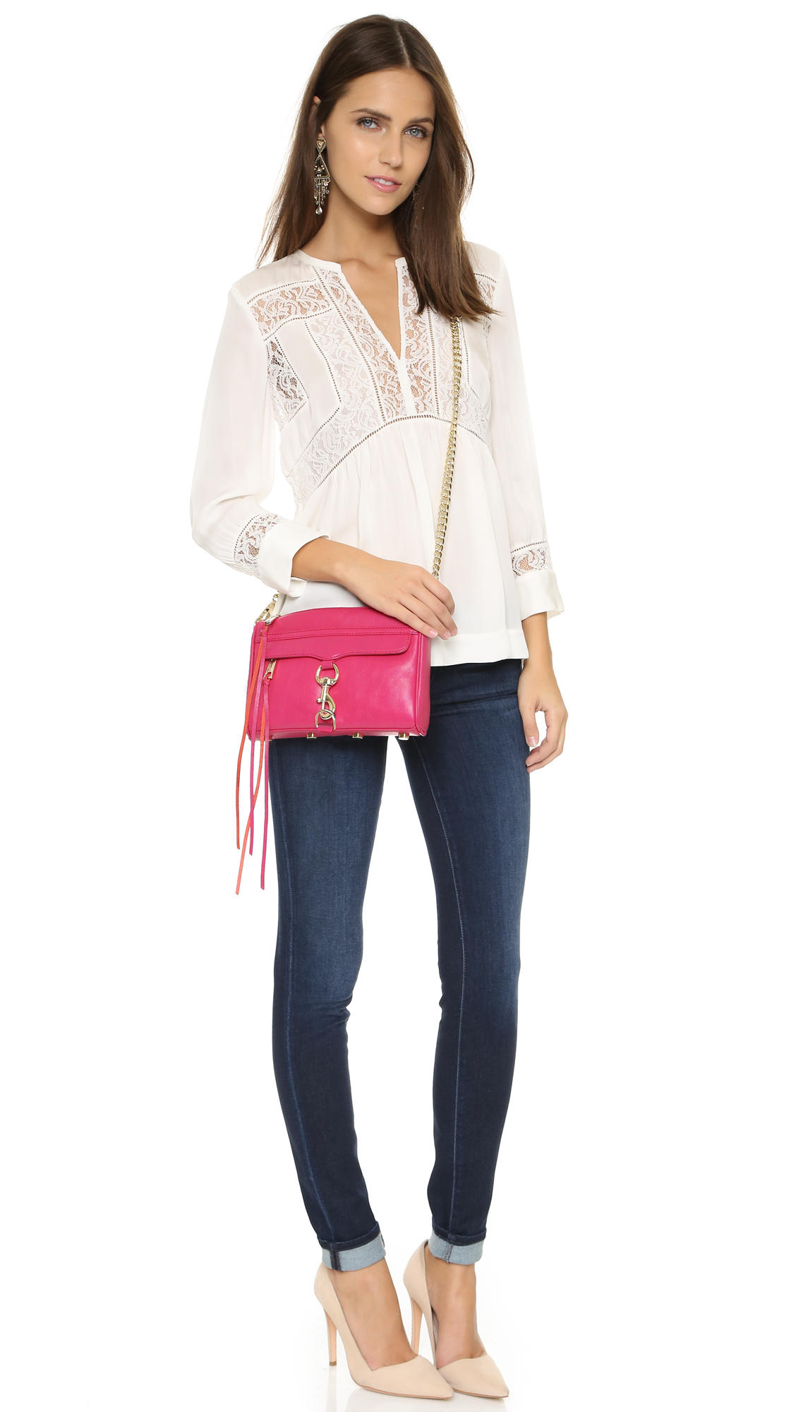 Up to 40% Off + $25 off Every $100 Purchase Select Rebecca Minkoff Handbags @ Bloomingdales