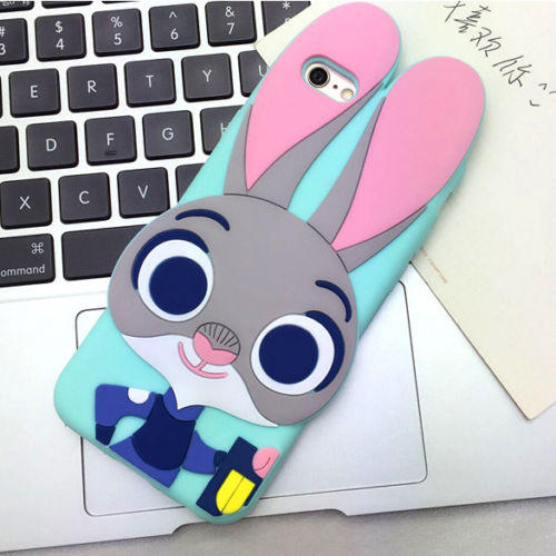 $3.98 Disney Animal Zootopia Judy Rabbit Silicone Soft Case For iPhone Samsung Galaxy