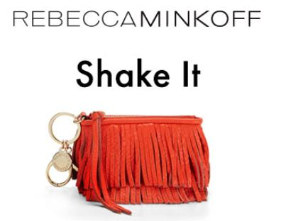 Free Finn Key Fob on All Orders Over $150 @ Rebecca Minkoff