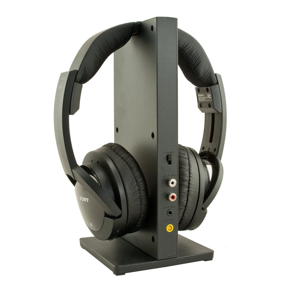 $88 Sony Wireless RF Over-ear Headphones, Black