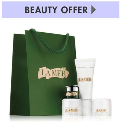 Receive 4-Pc gifts with any $350 La Mer purchase @ Neiman Marcus