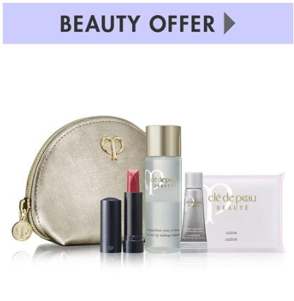 Free 4 pc GWP with any $350 Clé de Peau Beauté purchase  @ Neiman Marcus