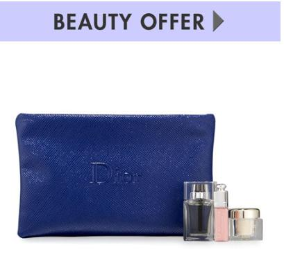 Free 4 pc GWP with any $200 Dior Beauty purchase @ Neiman Marcus