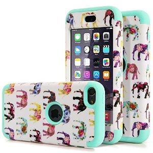$3.99 MOOST 3 in 1 Slim Hybrid Elephant Pattern Case Cover