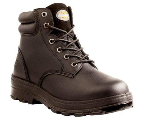 $19.86 Dickies® Men's Challenger Leather Waterproof Work Boots - Black
