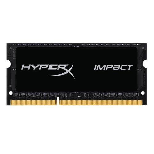 Kingston HyperX Impact Black 8GB 1600MHz DDR3L CL9 SODIMM 1.35V Laptop Memory