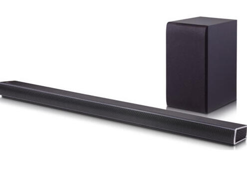 $149.99 LG SH5B 2.1ch 320W ASC 3D Sound Bar Wireless Subwoofer Bluetooth Connectivity