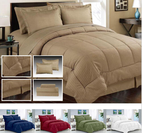 $39.99 8 Piece Manhattan Lights Collection Bed In A Bag Set