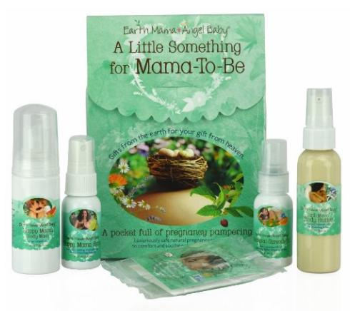 $12.69 Earth Mama Angel Baby A Little Something for Mama-to-Be organic pregnancy Gift Set, 5 Piece