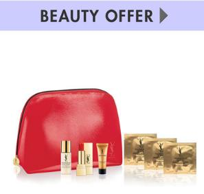 Free 5 pc GWP with any $150 Yves Saint Laurent Beauty purchase @ Neiman Marcus