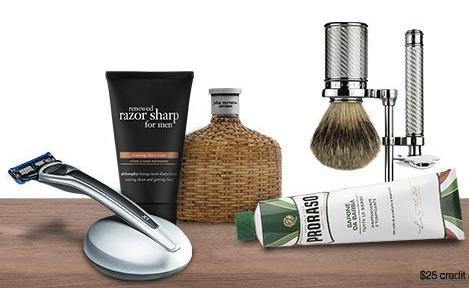 Free $25 Credit With $50 Men's Grooming Purchase @ Amazon