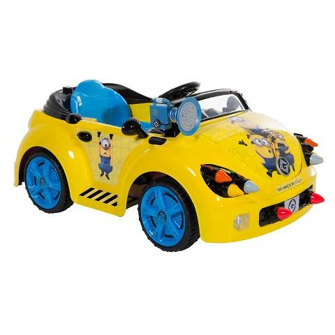 $57.04 Minions Battery Powered Ride On Car