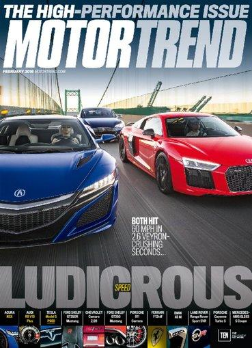 $4 Motor Trend Magazine 1 Year Subscription + Digital Download Included