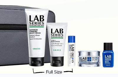 Free 6 Pc Gift with your $125 Purchase @Lab Series For Men