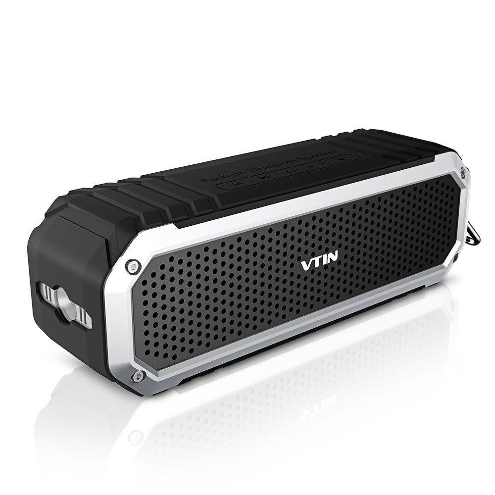 Outdoor Wireless Speakers Vtin Rocker 10W Drivers Bluetooth 4.0 Speaker with Bass , Waterproof/Dustproof