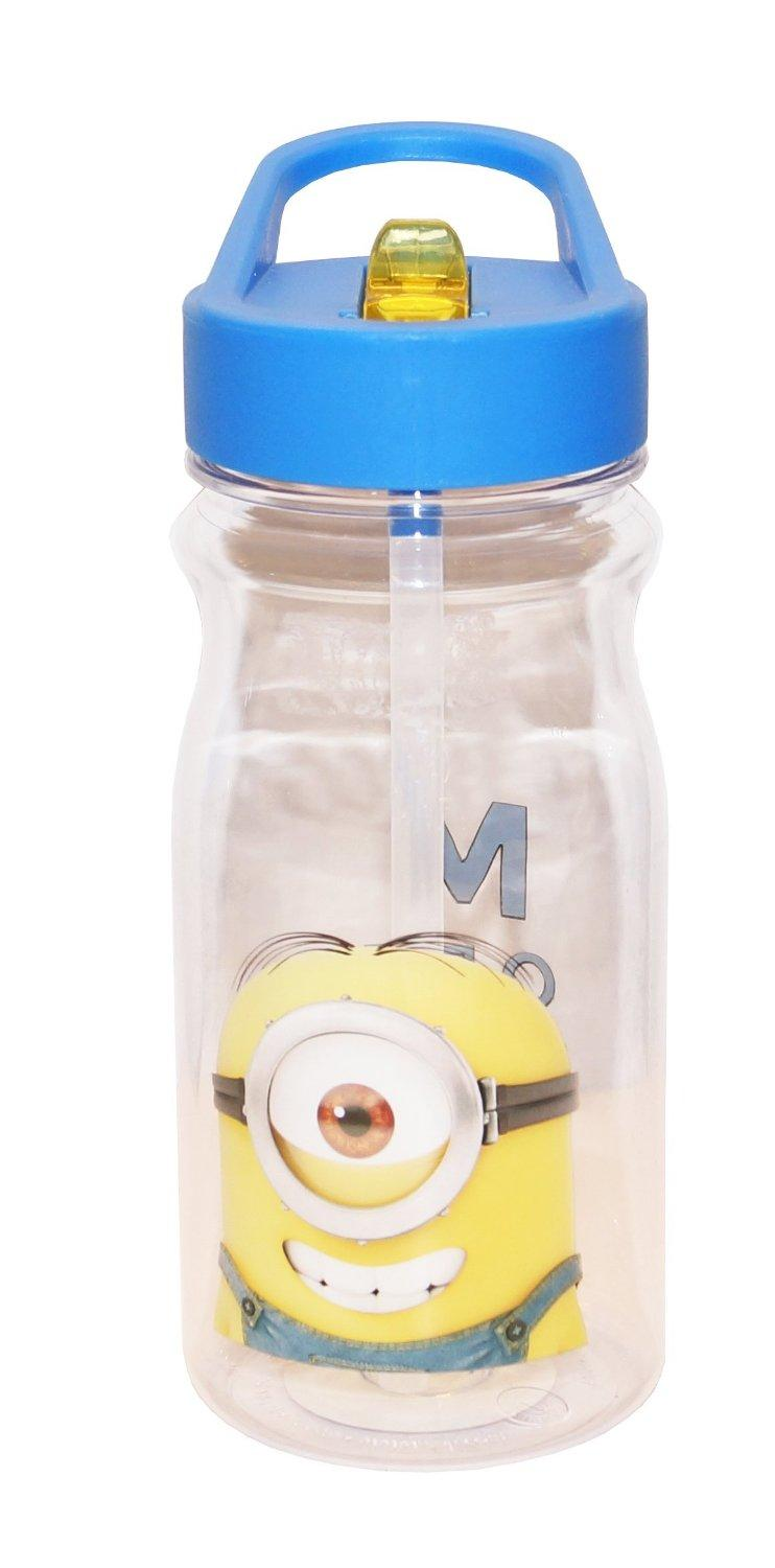 Zak! Designs Tritan Water Bottle with Despicable Me 2 Minions Graphics