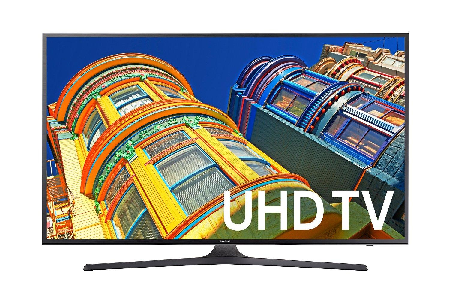 Samsung 55 Inch 4K Ultra HD UHD  Smart TV UN55KU630DFXZA