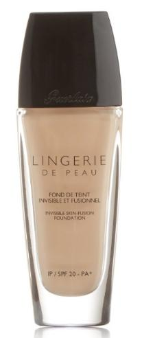 $42.14 Guerlain Lingerie de Peau Invisible Skin Fusion Foundation, SPF 20, # 02 Beige Clair, 1 Ounce
